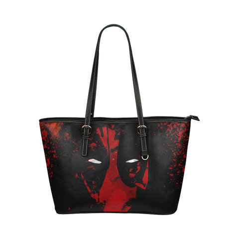 Deadpool Leather Tote Bags - Deadpool Bags - TeeAmazing