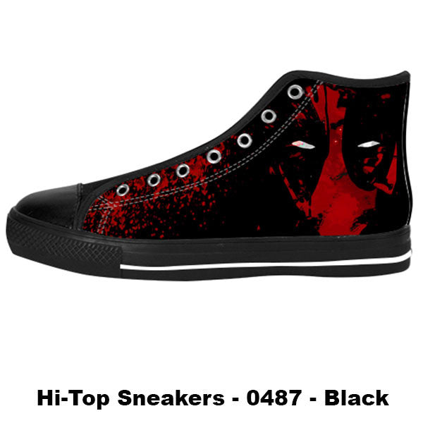 Made only for Real Fans - Deadpool Sneakers - TeeAmazing - 1