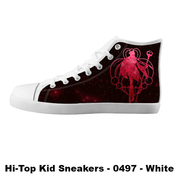 Awesome Custom Sailor Pluto Shoes Design - Sailor Moon Sneakers - TeeAmazing