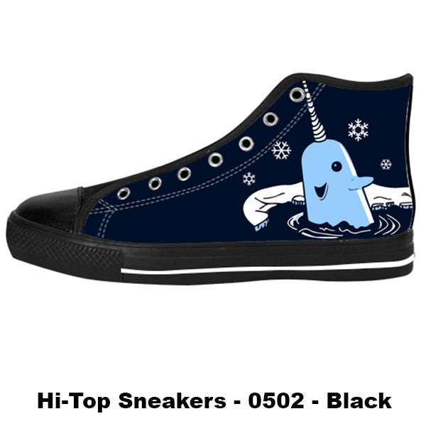 Made only for Real Fans - Mr. Narwhal Sneakers - TeeAmazing