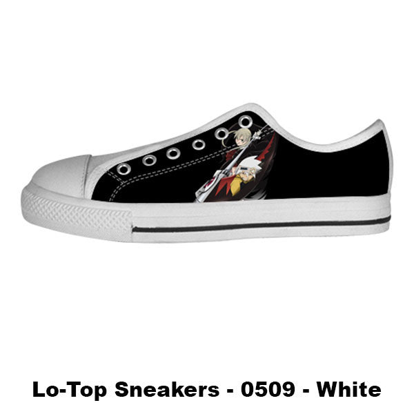 Made only for Real Fans - Soul Eater Sneakers - TeeAmazing
