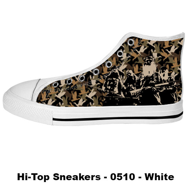 Made only for Real Fans - Duck Dynasty Sneakers - TeeAmazing