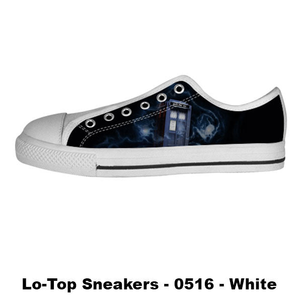 Made only for Real Fans - Tardis Sneakers - TeeAmazing