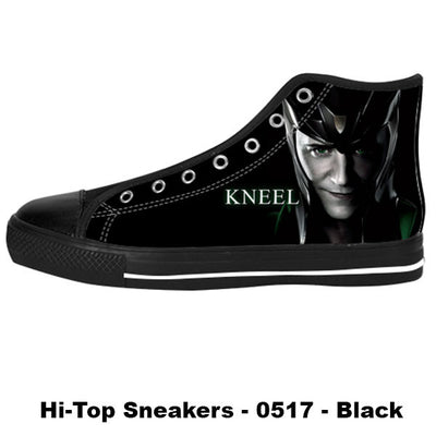 Made only for Real Fans - Loki Sneakers - TeeAmazing
