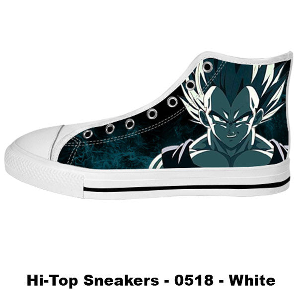Made only for Real Fans - Vegeta Sneakers - TeeAmazing