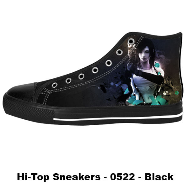 Awesome Custom Tifa Shoes Design - Final Fantasy Sneakers - TeeAmazing