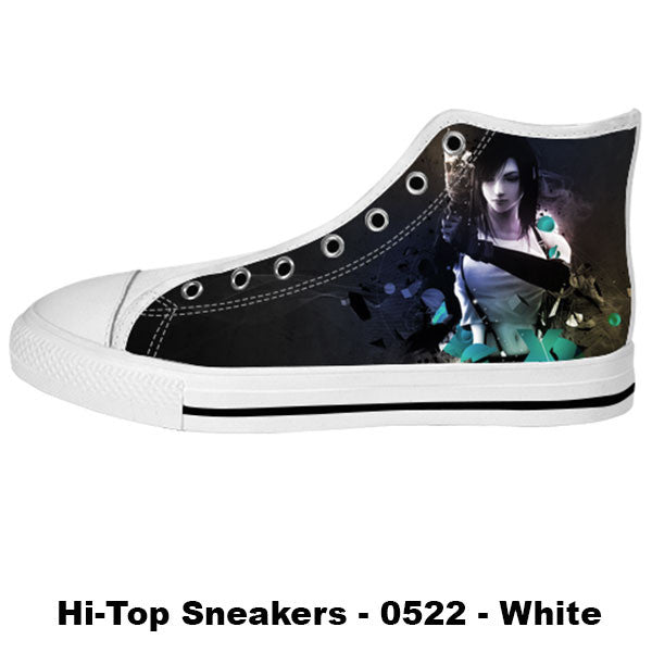 Awesome Custom Tifa Shoes Design - Final Fantasy Sneakers - TeeAmazing - 2