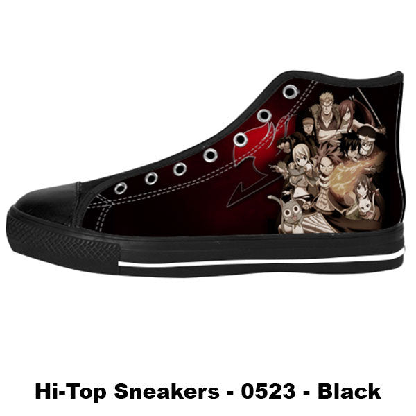 Awesome Custom Fairy Tail Shoes Design - Fairy Tail Sneakers - TeeAmazing