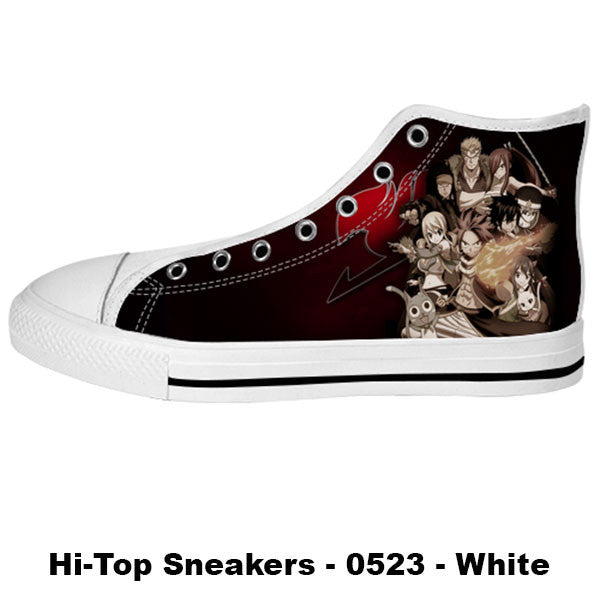 Awesome Custom Fairy Tail Shoes Design - Fairy Tail Sneakers - TeeAmazing - 2