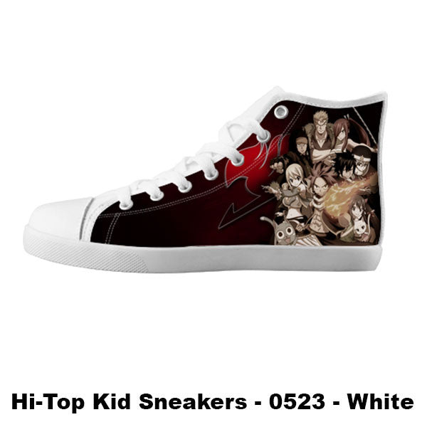 Awesome Custom Fairy Tail Shoes Design - Fairy Tail Sneakers - TeeAmazing - 5