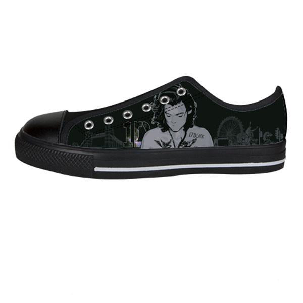 Awesome Custom Harry Shoes Design - 1D Sneakers - TeeAmazing - 3