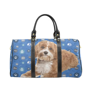 Cavapoo Dog New Waterproof Travel Bag/Small - TeeAmazing