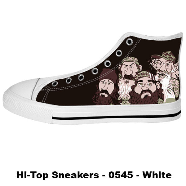Awesome Custom Duck Dynasty Shoes Design - Duck Dynasty Sneakers - TeeAmazing