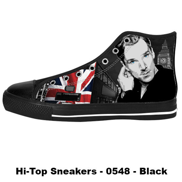 Awesome Custom Benedict Cumberbatch Shoes Design - Benedict Cumberbatch Sneakers - TeeAmazing