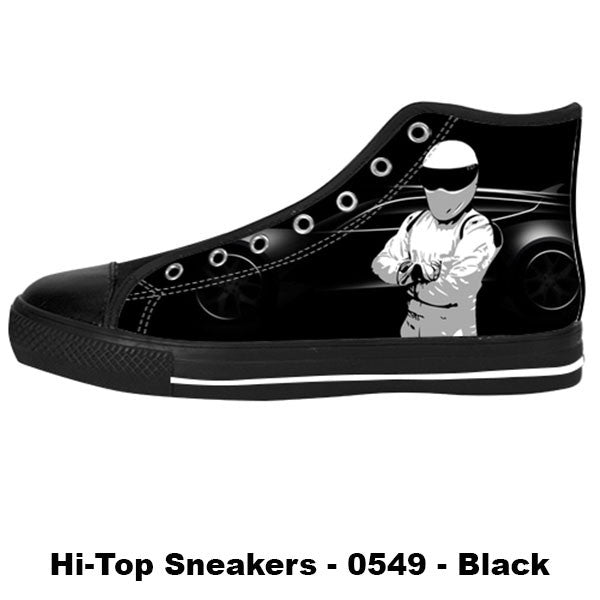 Awesome Custom The Stig Shoes Design - The Stig Sneakers - TeeAmazing - 1