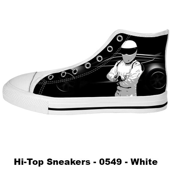 Awesome Custom The Stig Shoes Design - The Stig Sneakers - TeeAmazing - 2