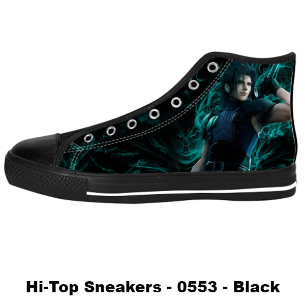 Awesome Custom Zack Fair Shoes Design - Final Fantasy Sneakers - TeeAmazing - 1