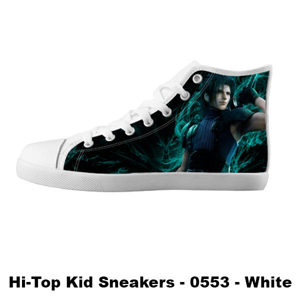 Awesome Custom Zack Fair Shoes Design - Final Fantasy Sneakers - TeeAmazing - 5