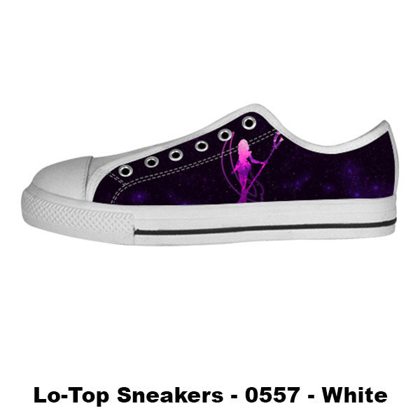 Awesome Custom Sailor Saturn Shoes Design - Sailor Moon Sneakers - TeeAmazing