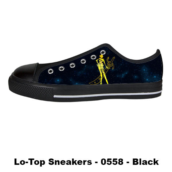 Awesome Custom Sailor Uranus Shoes Design - Sailor Moon Sneakers - TeeAmazing