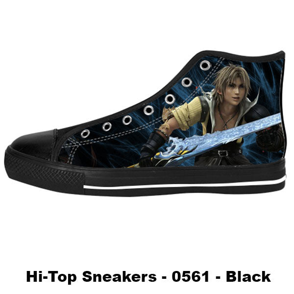 Awesome Custom Tidus Shoes Design - Final Fantasy Sneakers - TeeAmazing