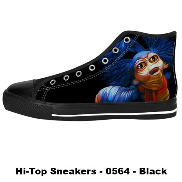 Awesome Custom Ello Worm Shoes Design - Labyrinth Sneakers - TeeAmazing - 1