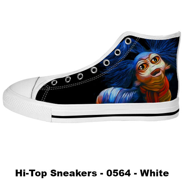 Awesome Custom Ello Worm Shoes Design - Labyrinth Sneakers - TeeAmazing - 2