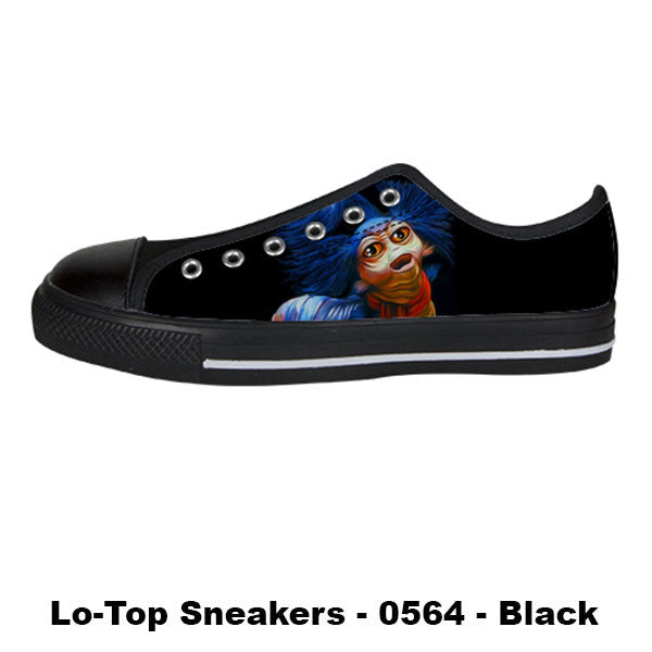 Awesome Custom Ello Worm Shoes Design - Labyrinth Sneakers - TeeAmazing - 3
