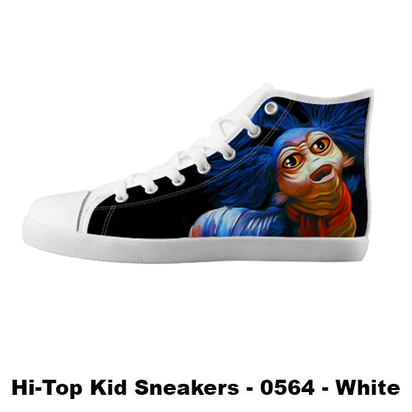 Awesome Custom Ello Worm Shoes Design - Labyrinth Sneakers - TeeAmazing