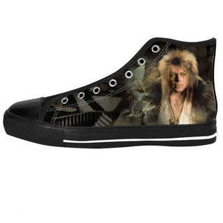 Awesome Custom Goblin King Shoes Design - Labyrinth Sneakers - TeeAmazing