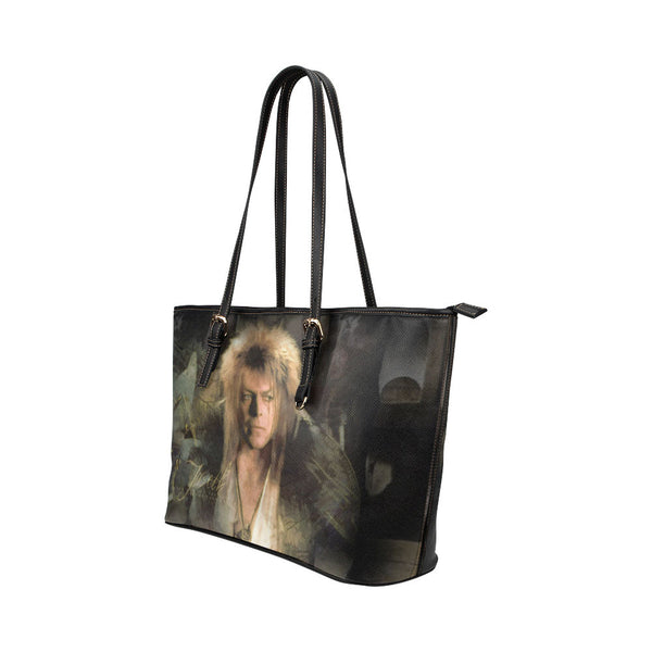 Goblin King Leather Tote Bags - Labyrinth Bags - TeeAmazing - 2