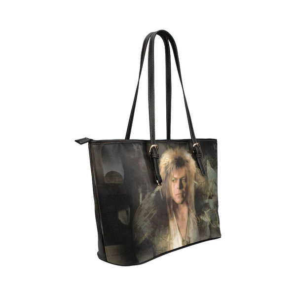 Goblin King Leather Tote Bags - Labyrinth Bags - TeeAmazing - 4