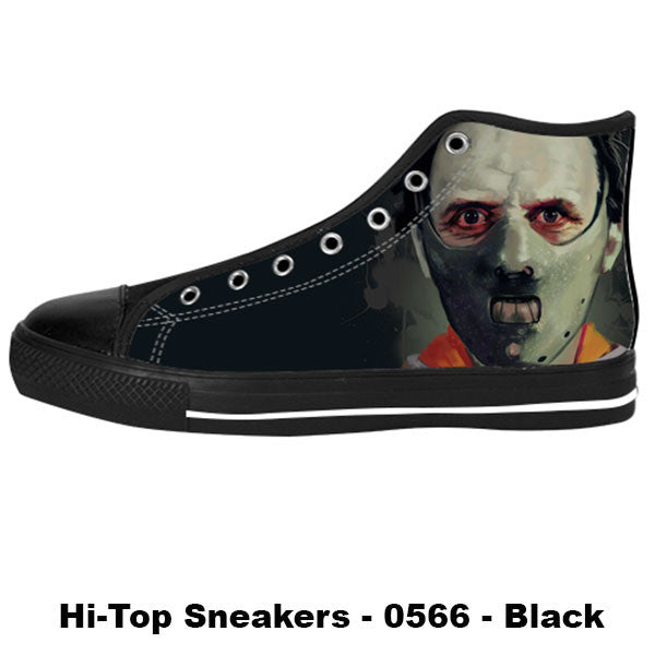 Awesome Custom Hannibal Lecter Shoes Design - Hannibal Sneakers - TeeAmazing