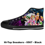 Awesome Custom Sailor Scouts Shoes Design - Sailor Moon Sneakers - TeeAmazing - 1