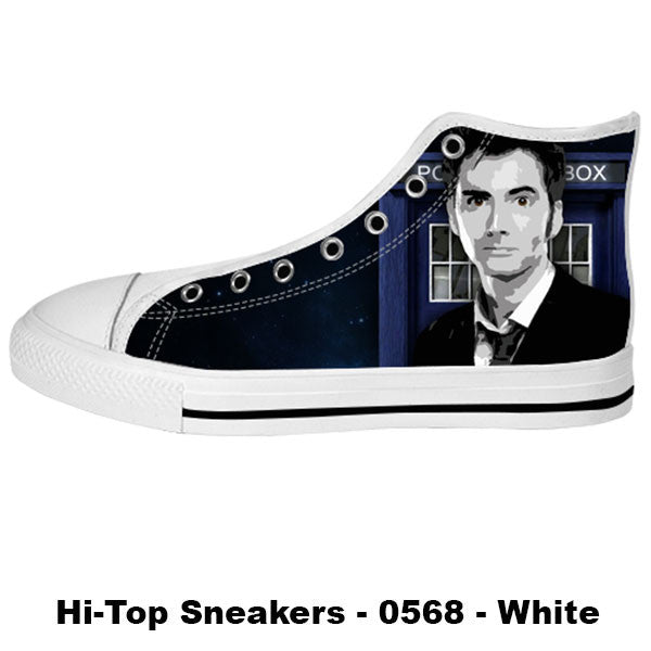 Awesome Custom 10th Doctor Shoes Design - Doctor Who Sneakers - TeeAmazing - 2