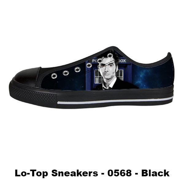 Awesome Custom 10th Doctor Shoes Design - Doctor Who Sneakers - TeeAmazing - 3