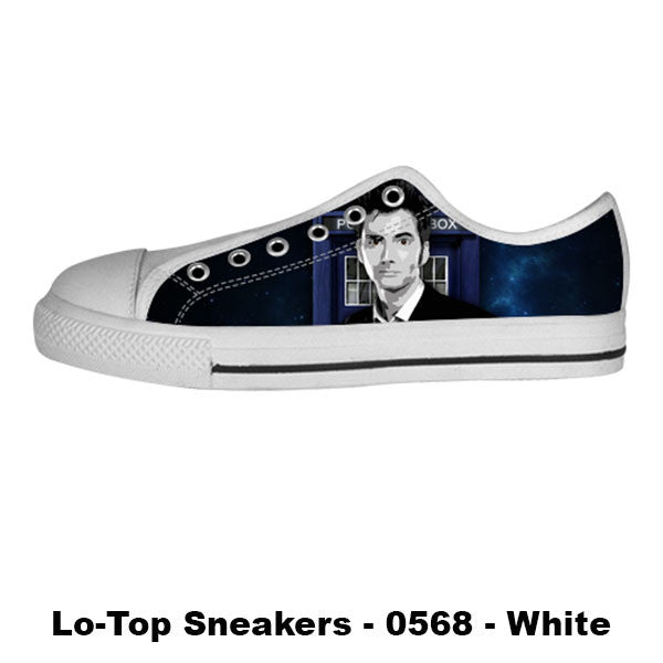 Awesome Custom 10th Doctor Shoes Design - Doctor Who Sneakers - TeeAmazing - 4