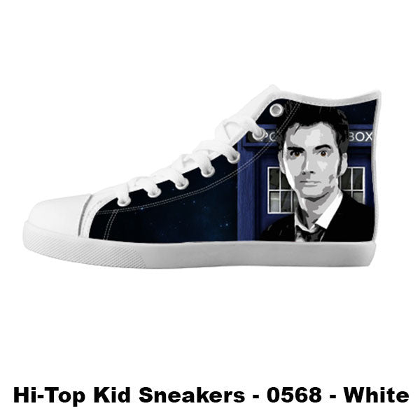 Awesome Custom 10th Doctor Shoes Design - Doctor Who Sneakers - TeeAmazing - 5