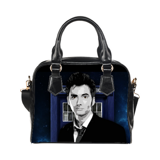 10th Doctor Purse & Handbags - Doctor Who Bags - TeeAmazing