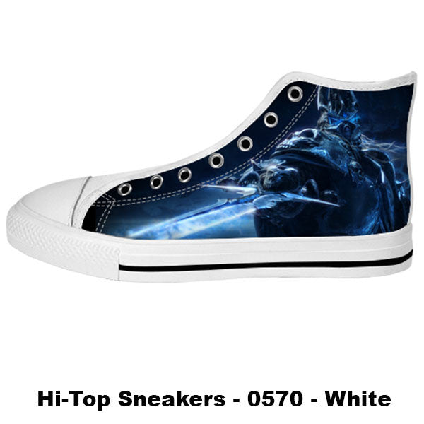 Arthas Shoes & Sneakers - Custom World of Warcraft Canvas Shoes - TeeAmazing - 2