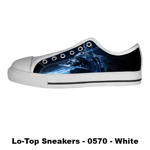 Arthas Shoes & Sneakers - Custom World of Warcraft Canvas Shoes - TeeAmazing - 4