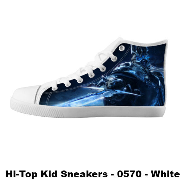 Arthas Shoes & Sneakers - Custom World of Warcraft Canvas Shoes - TeeAmazing