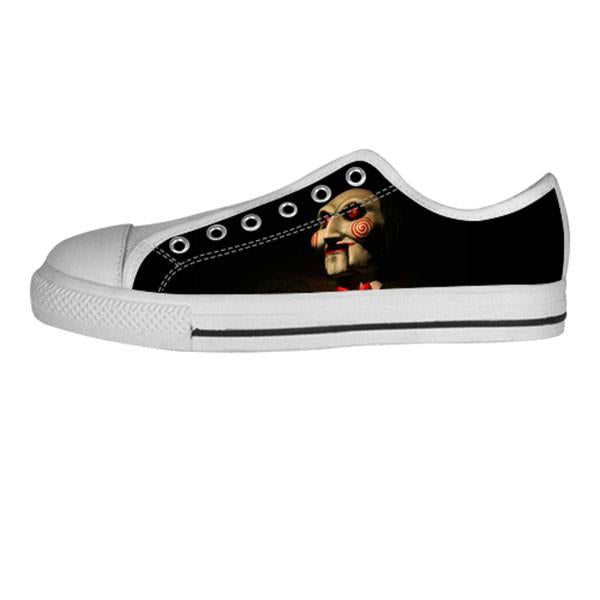 Billy Shoes & Sneakers - Custom Saw Canvas Shoes - TeeAmazing - 4