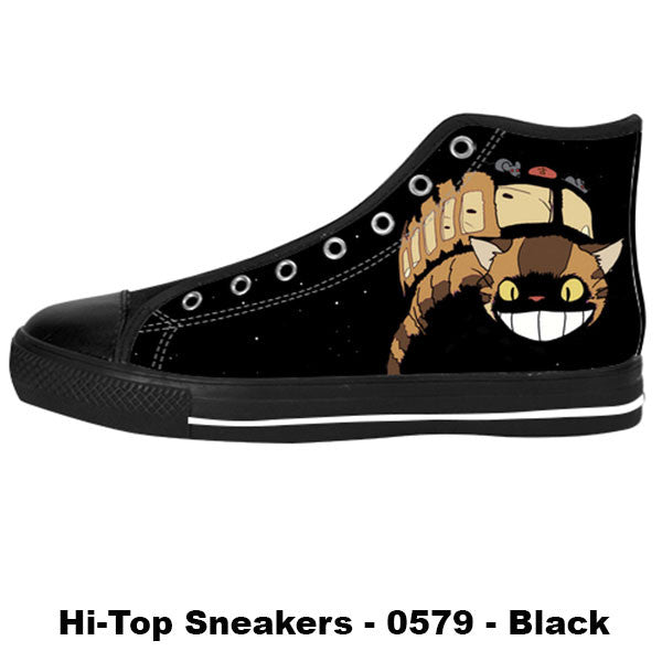 Catbus Shoes & Sneakers - Custom Totoro Canvas Shoes - TeeAmazing - 1