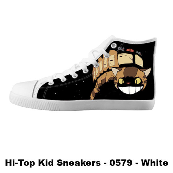 Catbus Shoes & Sneakers - Custom Totoro Canvas Shoes - TeeAmazing