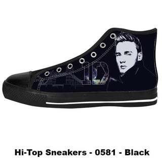 Liam Payne Shoes & Sneakers - Custom One Direction Canvas Shoes - TeeAmazing