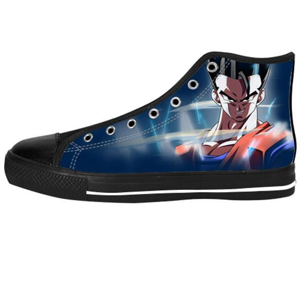 Gohan Shoes & Sneakers - Custom Dragonball Canvas Shoes - TeeAmazing