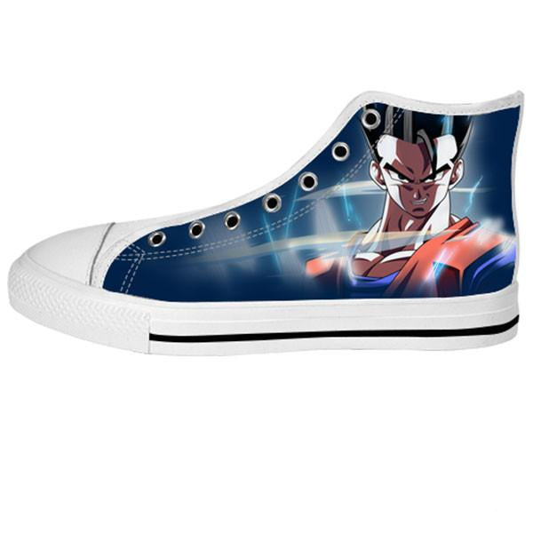 66e4c3932ef7 ... Gohan Shoes   Sneakers - Custom Dragonball Canvas Shoes - TeeAmazing ...