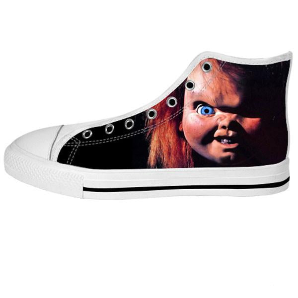 Chucky Shoes & Sneakers - Custom Chucky Canvas Shoes - TeeAmazing - 2