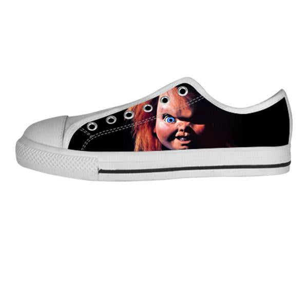 Chucky Shoes & Sneakers - Custom Chucky Canvas Shoes - TeeAmazing - 4